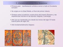 1. Características del Arte Románico