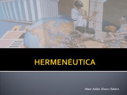 INVESTIGACIÓN HERMENÉUTICA