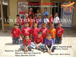 Los Estados de la Materia - .: Alacima :. Alianza