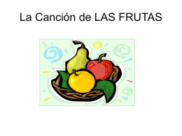 La Cancion de LAS FRUTAS - Grapevine Colleyville