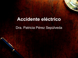 Accidente eléctrico