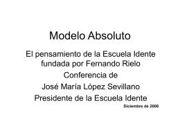 Modelo Absoluto