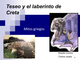 Teseo y el laberinto de Creta