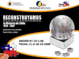 Sesión N° 03 - El Gobierno de la Unidad Popular -
