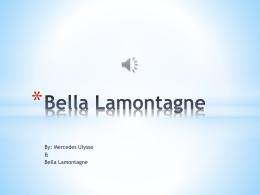 Bella Lamontagne
