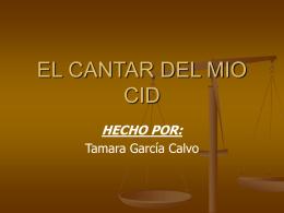 EL CANTAR DEL MIO CID - arsliteratura