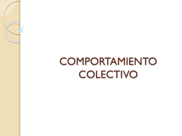 COMPORTAMIENTO COLECTIVO - Sociologia12-B