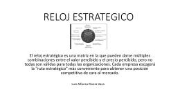 RELOJ ESTRATEGICO