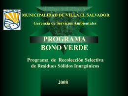 Diapositiva 1 - Portal Municipalidad de Villa El