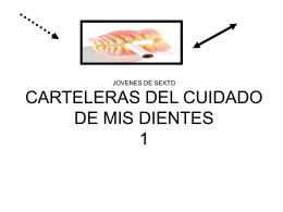 CARTELERAS DEL CUIDADO DE MIS DIENTES 1