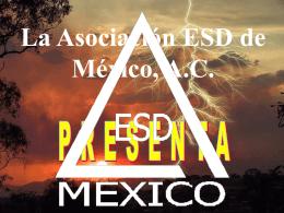 Asociación ESD de México, A.C.