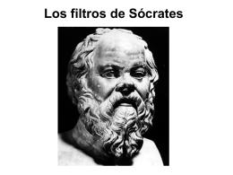 Los filtros de Sócrates