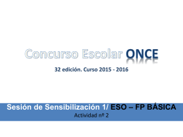 Concurso ONCE