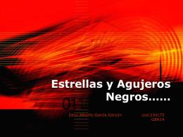 Agujeros Negros……