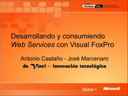 Web Services y Visual FoxPro 7