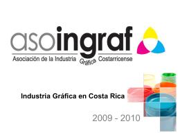 Industria Gráfica en Costa Rica