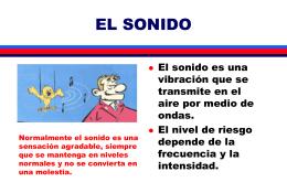 EL SONIDO - De Prevencion, Salud Ocupacional,