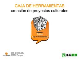 Caja de herramientas creacion de proyectos