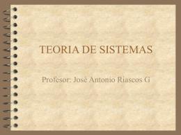 TEORIA DE SISTEMAS - IHMC CmapServer 5.04