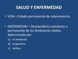 SALUD Y ENFERMEDAD - San Juan de Dios 2008 |