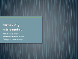 Rayos X y microondas - AnalizameSTA