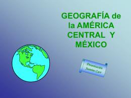 GEOGRAFÍA de las AMÉRICAS