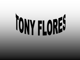 ROSTER TONY FLORES