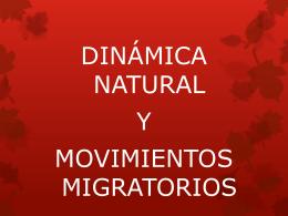 DINAMICA NATURAL