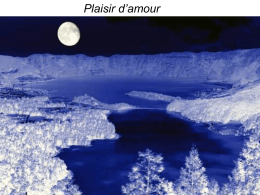 Plaisir d`amour Basada en el lay provenzal