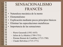 SENSACIONALISMO FRANCÉS - Universidad de Almería