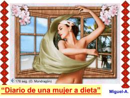 Diario de una mujer… a dieta