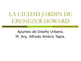 La Ciudad Jardín de E. Howard