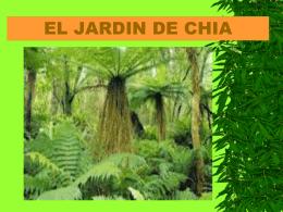 EL JARDIN DE CHIA