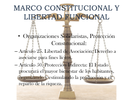 NATURALEZA JURÍDICA DE LAS ASOCIACIONES