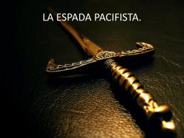 La primera batalla para la espada.