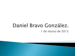 Daniel Bravo González.