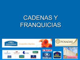 CADENAS Y FRANQUICIAS -