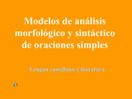 Análisis sintáctico - XTEC