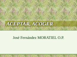 ACEPTAR, ACOGER - Dominicos