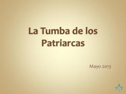 La Tumba de los Patriarcas