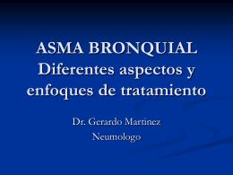ASMA BRONQUIAL - LIGA DEL PULMON | Guatemala,