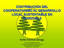 DESARROLLO ENDÓGENO EN VENEZUELA Realidad y