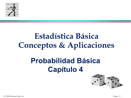 Chap. 6: Basic Probability