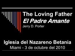El Padre Amante Jerry D. Porter