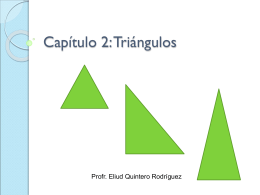 Capítulo 2: Triángulos