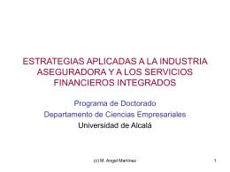 Estrategias aplicadas a la industria aseguradora