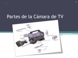Partes de la Cámara de TV