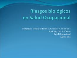Riesgos biológicos en Salud Ocupacional