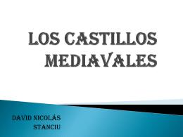 LOS CASTILLOS MEDIAVALES
