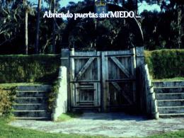 LO QUE HACE EL MIEDO - C